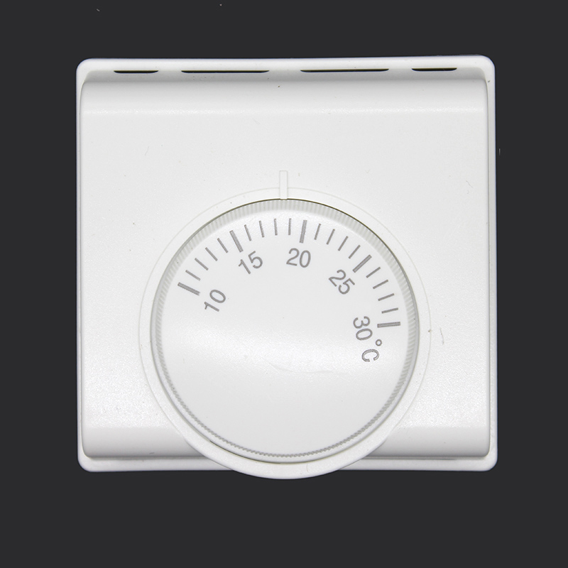 220V  6A  AC Mechanical Room Air Thermostat Regulator Floor Heating Thermostat Temperature Controller Adjust Temperature ac 250v 20a normal close 60c temperature control switch bimetal thermostat