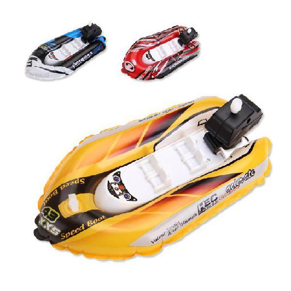 Leadingstar имитировать надувные Заводной гоночная лодка дети Одежда заплыва игрушки для купания для Ванная комната Пляж Бассейн