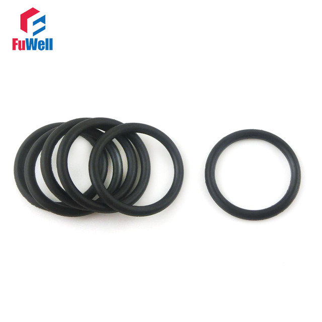 50pcs 4mm Thickness NBR O Rings Seals Washer Grommets 60/63/65/68/70 ...