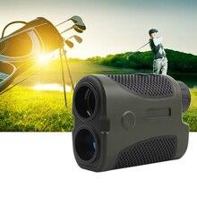 цена на Monocular 400m 6x Magnification Golf Laser Range Finder Slope Compensation Angle Scan Pinseeking