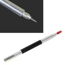Жесткая металлическая плитка для резки, ручка для нанесения надписей, стеклянный керамический маркер, двуглавый резак для стеклянной плитки, запчасти для строительных инструментов