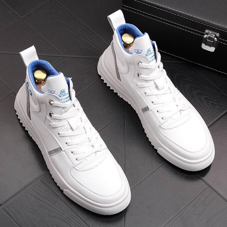 Britannique Loisirs Plate 38 Chaussures Homme blanc Arrivée Med Noir Taille 43 forme Plate Nouvelle Errfc Confort Mens Noir Casual Tendances Blanc Lacent OfExUq06