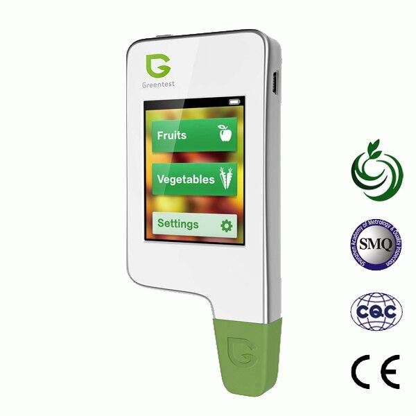 Greentest, Портативный Высокое качество Высокая точность Еда детектор, нитрат тестер для фруктов и овощей тестер нитратов