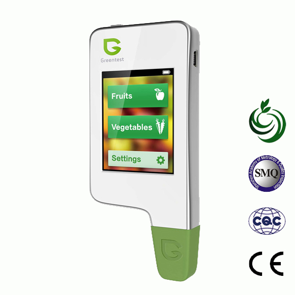 Greentest, portátil de Alta Qualidade de Alta Precisão Detector De Alimentos, nitrato Tester para Frutas e Legumes Testador de Nitratos