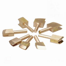8PCS Single Line 1-9mm Leather Edge for Sealing DIY Tool Brass Soldering Iron Edge Marking Leathercraft Tool