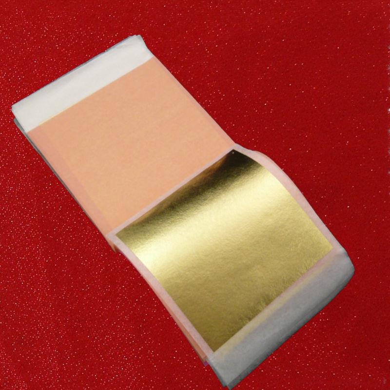 12k L.A 18k - 25 Sheets and Genuine Silver 23k Gold Leaf: Genuine Gold Leaf Transfer Sheets 22k 21k 18k 24k