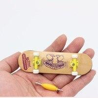 Increíble Mini tablero del patín del dedo diapasón de madera juguetes para niños de madera divertido interesante regalo de Navidad de cumpleaños para adultos