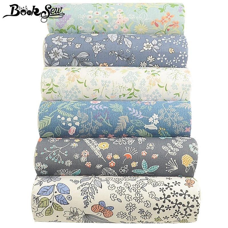 Стеганая Подушка с цветами из 100% хлопка, 6 шт., 40 см х 50 см, аксессуары для шитья