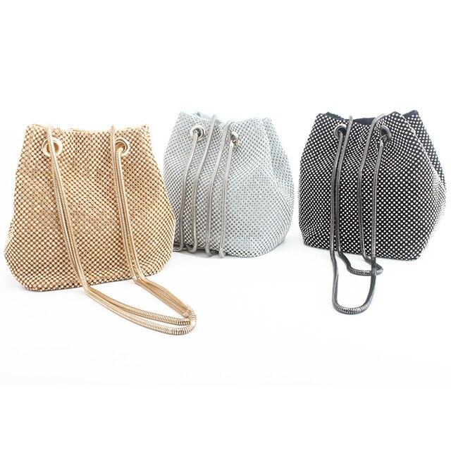 clutch evening bag luxury women bag shoulder handbags diamond bags lady wedding party pouch small bag satin totes bolsa feminina 1