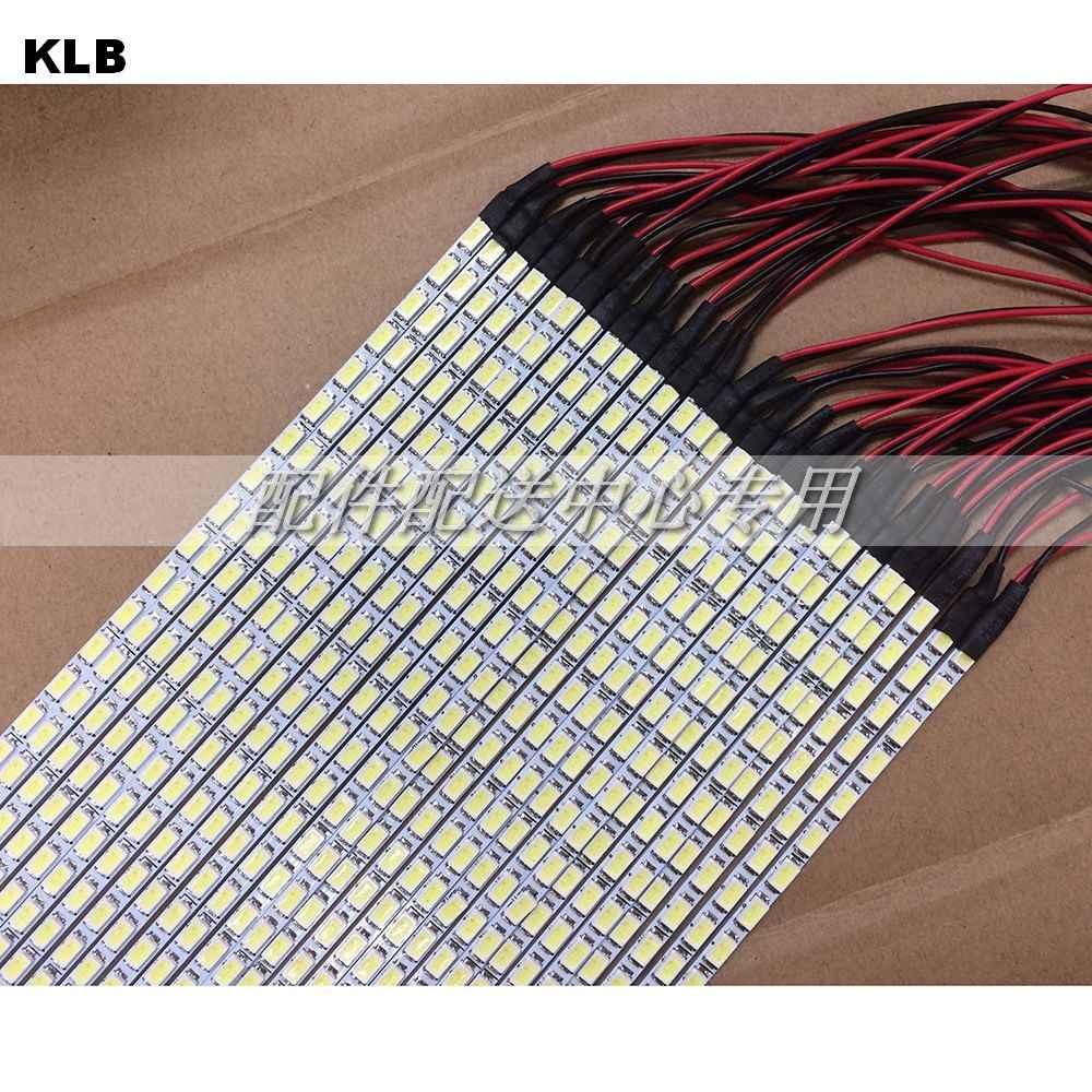 10 sets x Dimbaar LED Backlight Lampen Update Kit Verstelbare LED Board 2 Strips voor Monitor Desktop Gratis Verzending