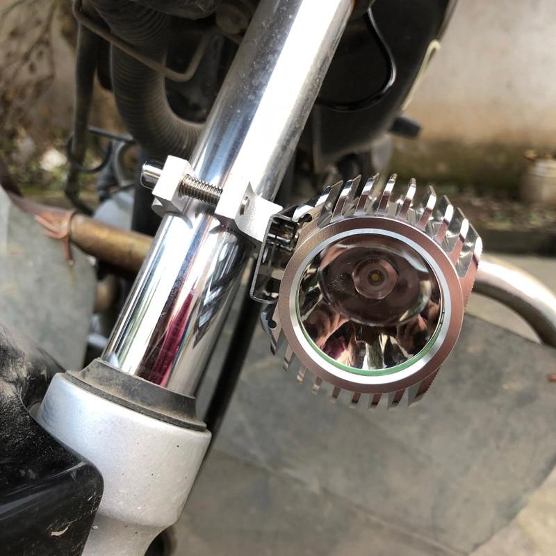 12V 24V 48V 60V 64V 72V electric bicycle e-bike Led driving light Motorcycle Auxiliary headlamp Day Fog light Powerful Spotlight