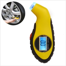 Car Air Digital Tire Pressure Gauge Electronic Manometer Tyre Vacuum Motorcycle Pressure Diagnostic Tools LCD Car Accessories