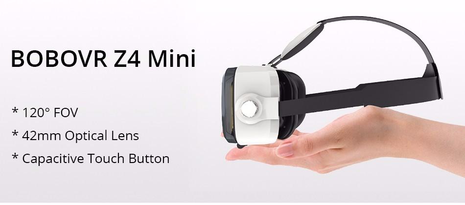 Original BOBOVR Z4 mini 3D VR glasses virtual reality google Cardboard Helmet Headset Stereo BOBO VR BOX for 4-6'' Mobile Phone 11