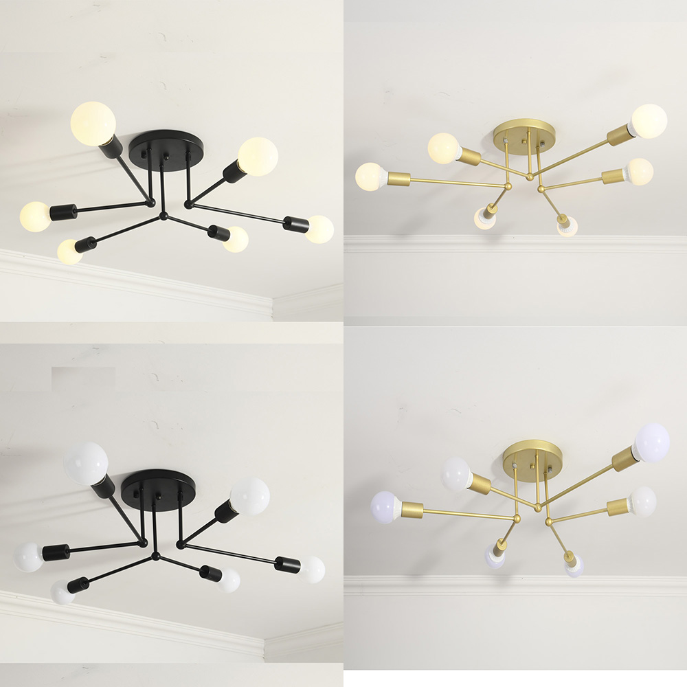 LED Ceiling Light Modern Lamp Living Room bedroom Lighting Fixtures Surface ceiling Mounted lights 6 heads
