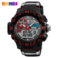 SKMEI Brand New S Shock Men Watch Large Dial Sport Watches For Men LED Digital Wristwatches