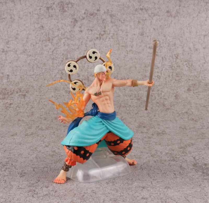 One Piece 4 models Luffy Thor Sand crocodile Kohza Figure Model Toys 13cm