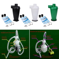 Cyclone Dust Collector Filter Turbocharged Cyclone With Flange Base Separator Vacuum Cleaner Household Cleaning Appliance