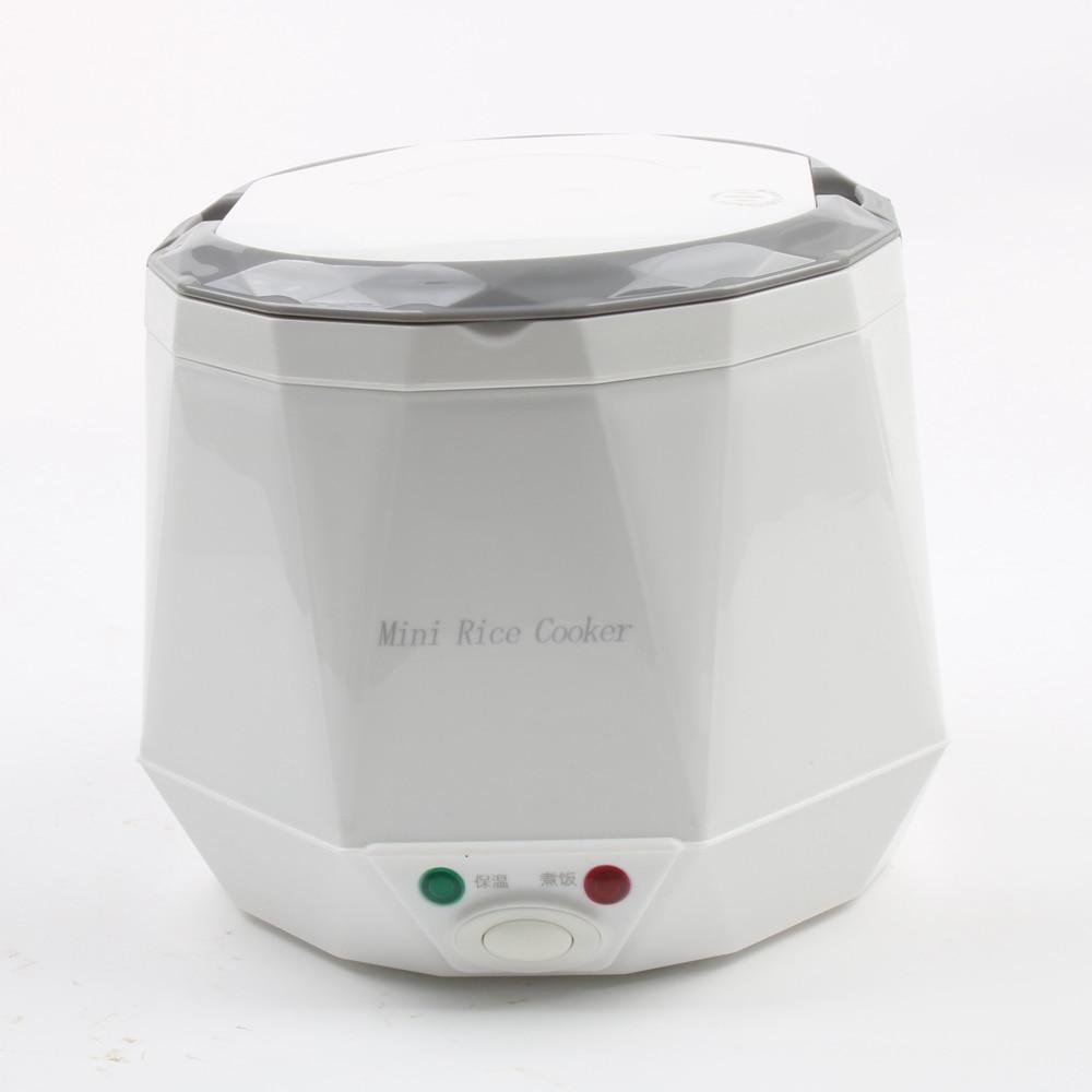DMWD 1.3L Mini Rice Cooker 12V/24V For Car/Truck Travel Portable Electric Pot Steaming/Boiling/Stewing Soup Pot For 2-3 PeopleDMWD 1.3L Mini Rice Cooker 12V/24V For Car/Truck Travel Portable Electric Pot Steaming/Boiling/Stewing Soup Pot For 2-3 People