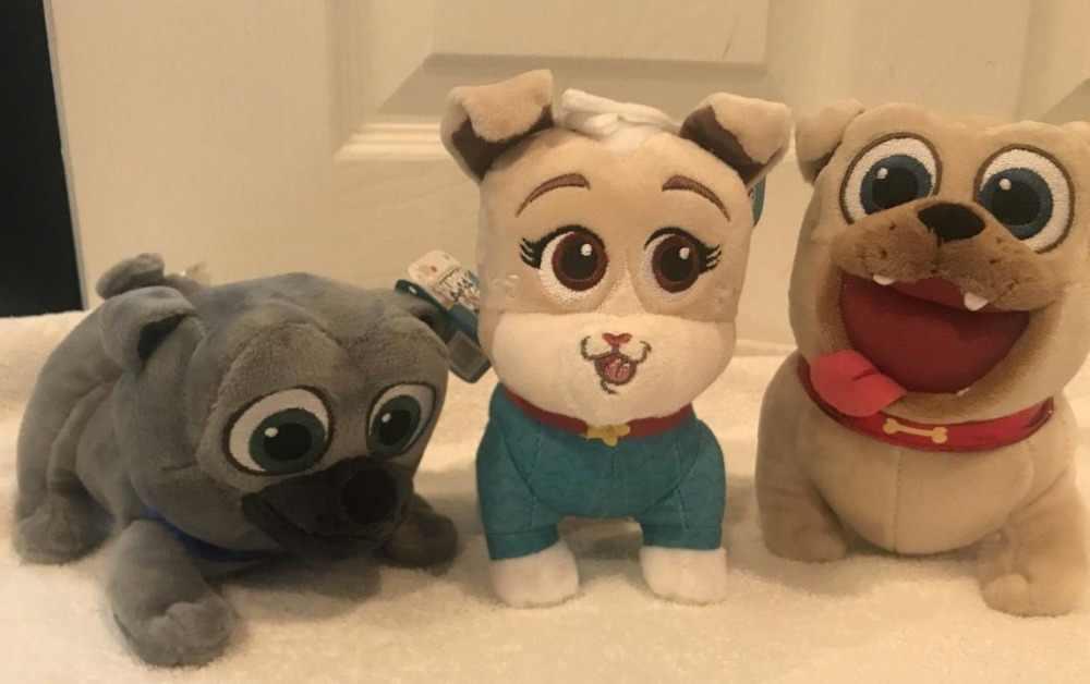 子犬犬仲間ビンゴ & ROLLY & KEIA ぬいぐるみ新