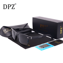 DPZ Luxury Brand Men Sunglasses women Vintage metal tr90 frame Male Polarized