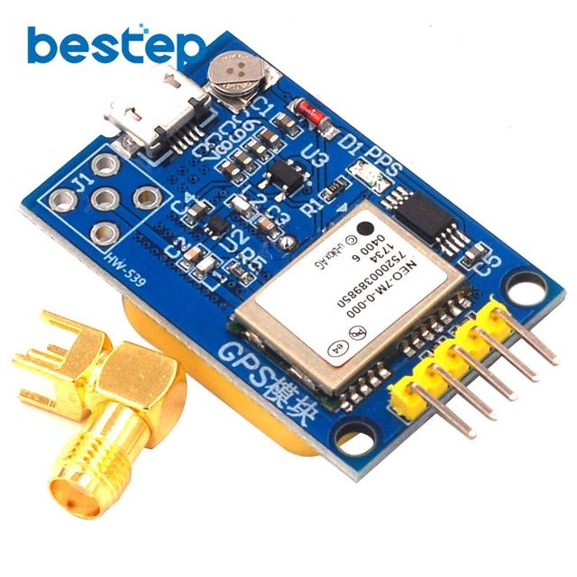 GPS NEO-7M Satellite Positioning Module Development Board NEO-7M 7M for Arduino STM32 C51 51 MCU Microcontroller Replace NEO-6M
