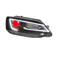 Exterior Neblineros Para Side Turn Signal Drl Auto Parts Led Accessory Headlights Car Lights Assembly For Volkswagen Sagitar