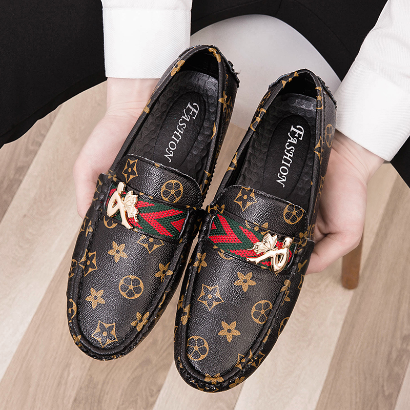 Loafers For Men Big Size 39 48 Shoes Men Genuine Leather Comfortable Casual Shoes Black Brown Lazy Shoes Zapatos Hombre Dress