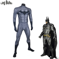 Ling Bultez High Quality Muscle Padding Batman Costume Batman: Arkham Knight Costume Muscle Batman Cosplay Costume Batman Zentai