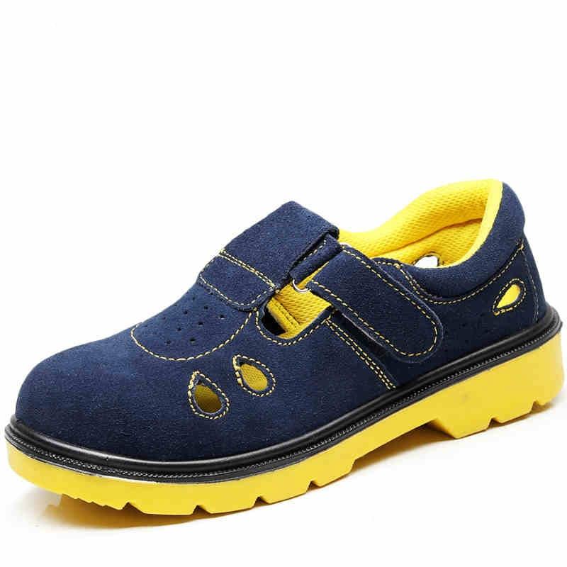 Souple Mode Travail Sécurité Hommes Travailleur Nouveau Des Bottes Grande Cuir Taille Protection De Outillage Sandales Chaussures En Embout Acier Pd7xgzw7
