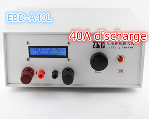 EBD-A40L high current battery capacity tester ( 40A discharge), battery ,Battery Testing battery test ebc a40l high current battery capacity tester battery line graph battery tester battery testing 20acharge 40a discharge