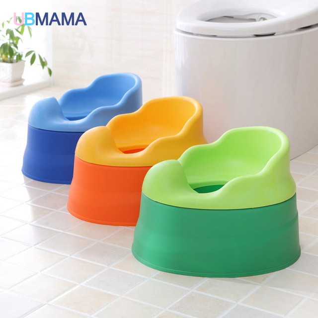Super cute thickening multi-function baby children toilet in men and women sit implement baby potty douwei small toilet