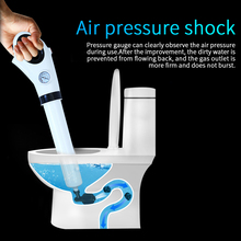 Air Pressure Drain Cleaner Sewer Cleaning Brush Kitchen Bathroom Toilet Dredge Plunger Basin Pipeline Clogged Remover Tool Set pipeline dredge suction cup plunger