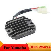 3 Pin 2 Wires Motorcycle Voltage Regulator Rectifier For Yamaha YFB 250 YFM 350 Big Bear