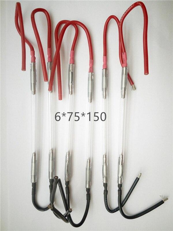 6*75*150mm OPT flash lumière ipl poignée à l'intérieur de la lampe au xénon IPL de haute qualité et de grande valeur 6 pièces