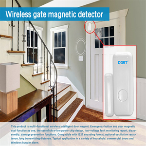 Image 2 - WiFi 433mhz While Wireless Smart Open Window  to Home Alarm App Notification Alerts