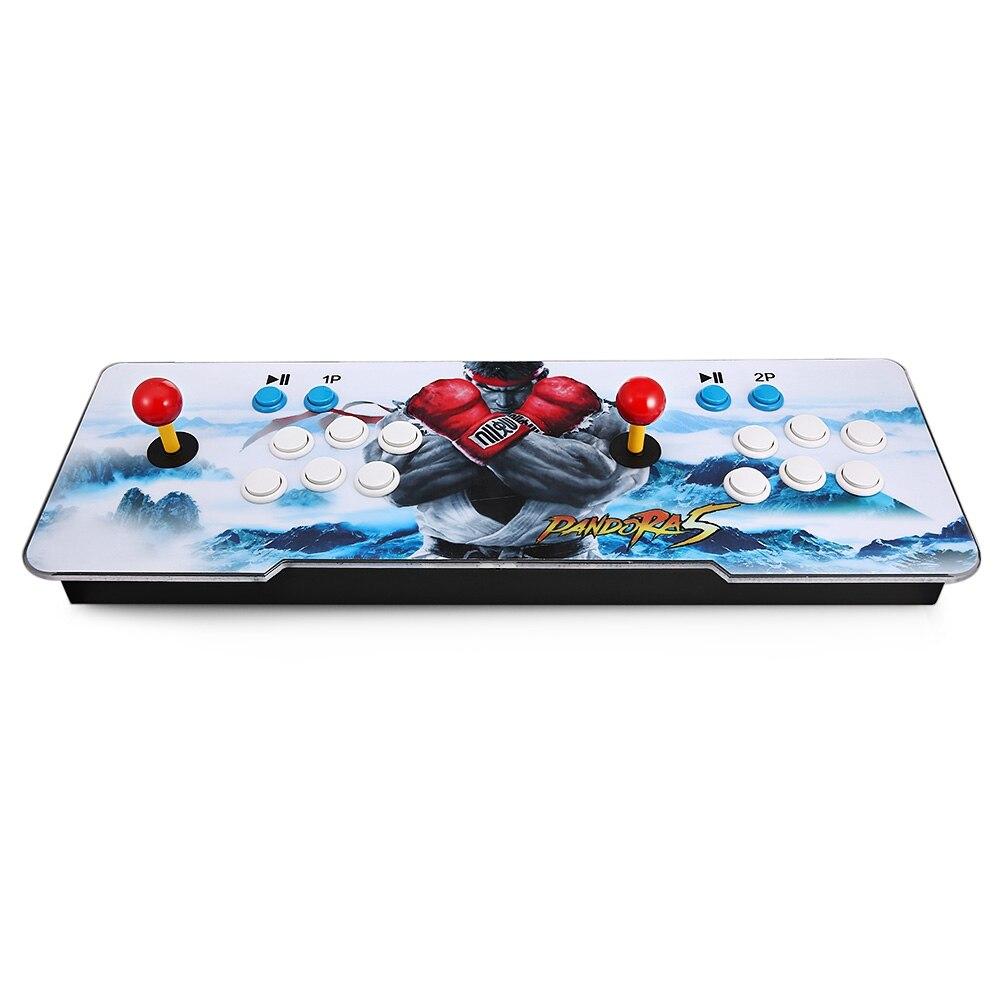 ACCEWIT 999 en 1 Jeux Vidéo Console D'arcade Machine 2 Joueurs Bâtons Doubles Maison pandore 5 Clés pour Android