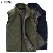 VEQKING – veste chaude sans manches pour homme, gilet molletonné, pour randonnée, escalade, Trekking, pêche, printemps