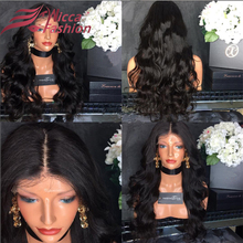 7A 180Density Human Hair Full Lace Wig with Baby Hair Brazilian Virgin Glueless Lace Front Wigs Wavy Bleached Knots FreeShipping