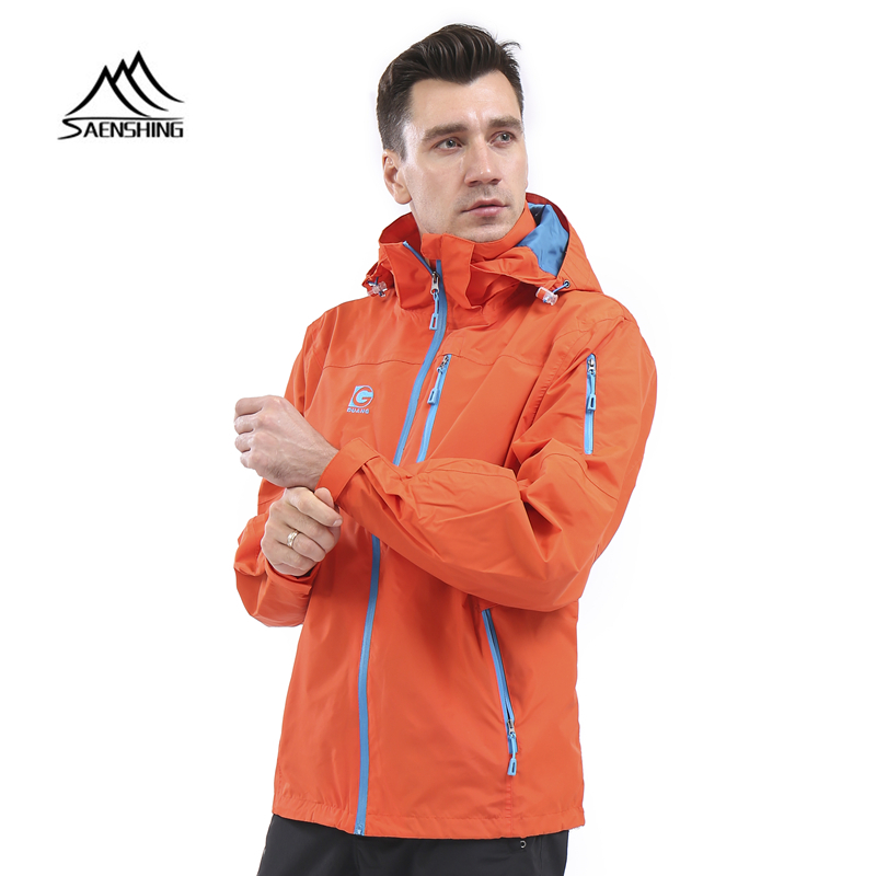 SAENSHING Rain-Coat Clothings Jackets Windbreaker Outdoor Breathable Camping Male Men