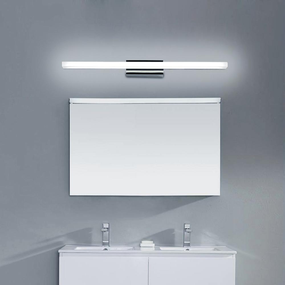 60CM fashion bathroom mirror lamp 110V / 220V 12W LED sconce ...