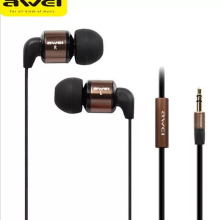 AWEI ES 600M Noise Isolating Hi Definition In Ear Earphone 3.5mm Jack 1.2m Cable стоимость