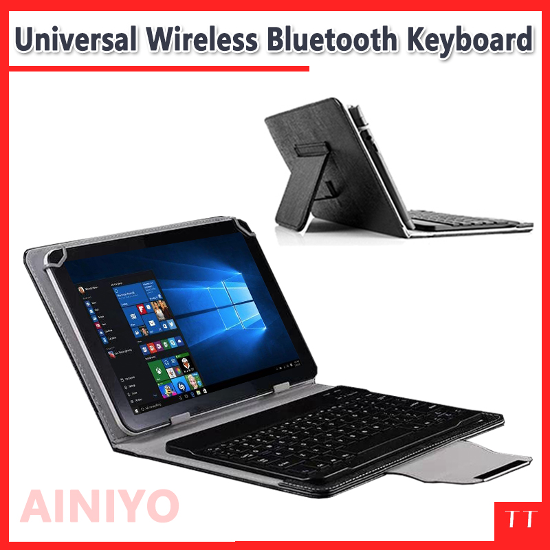 Universal Bluetooth Keyboard Case For Cube iwork10 Ultimate / iwork10 pro 10.1Tablet ,iwork 10 pro Bluetooth Keyboard Case universal 61 key bluetooth keyboard w pu leather case for 7 8 tablet pc black