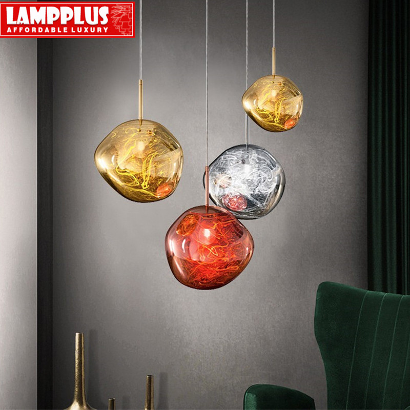 Ceiling Lights & Fans Chandeliers Modern Novelty Chandelier Lights Restaurant Bar Lamp Living Room Coffee Shop Glass Hanging Light Fixtures Carefully Selected Materials