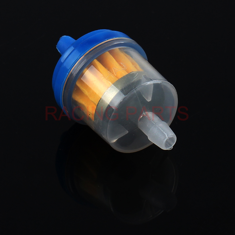10pcs set Small Engine Industrial Universal Bike Motorcycle Gas Filters Fuel Plastic Inline Fuel Gasoline Filter New oil filter in Oil Filters from Automobiles Motorcycles