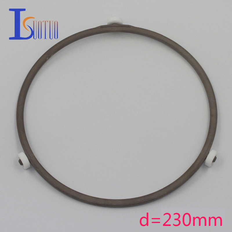 230mm outer diameter original Galanz microwave oven runner wheel bracket tray circle bracket microwave oven parts. холодильник galanz bcd 217t