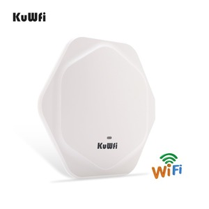 Image 4 - KuWFi 300Mbps Wireless Router Indoor Celling Access Point High Performance Indoor Wifi Router Wireless AP With 48V POE