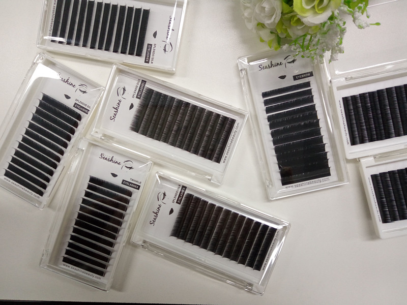 4TraysC D 0.03mm Russian Individual Eyelash Individual Lashes Extention Mixed Lengths for Beautiful Women