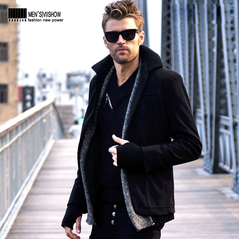 Aliexpress.com : Buy viishow black men coat trench coats men&39s