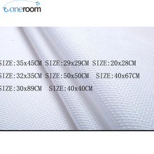 Noneroom Aida 14ct white cross stitch fabric canvas with