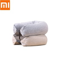 New U shaped pillow travel pillow cervical pillow portable multi function neck pillow Antibacterial pillowcase latex particle